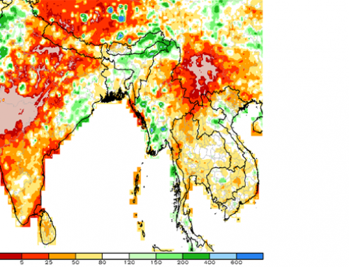 Poor pre-monsoon rains for India