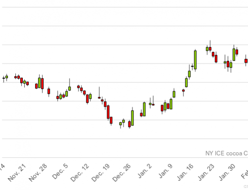 NY cocoa pushing against $2,900 level