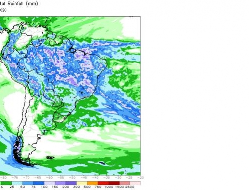 Southern Brazil to get rain, U.S. soils remain saturated