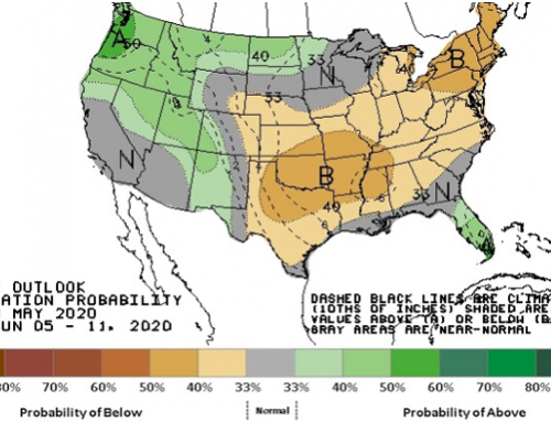 Warmer weather expected to benefit developing crops