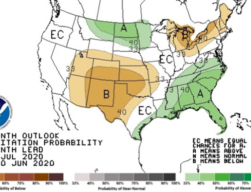 Weather mostly favorable for U.S. crops