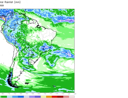 Spring rains provide planting window in South America