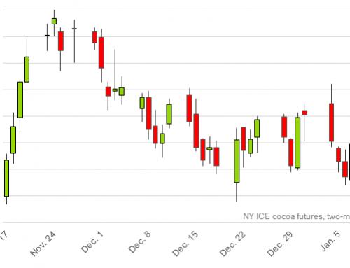 NY & London cocoa showing short-term range-bound trading