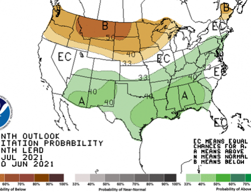 Dry, hot July weather expected in northwestern Belt