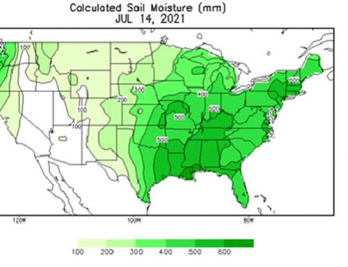 NOAA's August outlook features northern heat