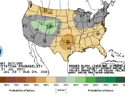 Some unfavorable weather for grain at home & abroad