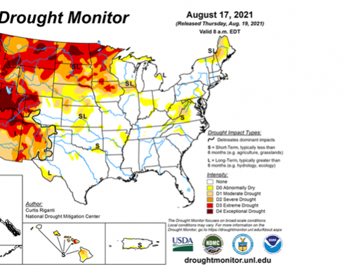 Moderate to extreme drought for 44 percent of contiguous U.S.