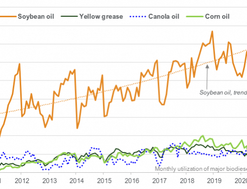 June soybean oil use for biofuel down 11% YOY